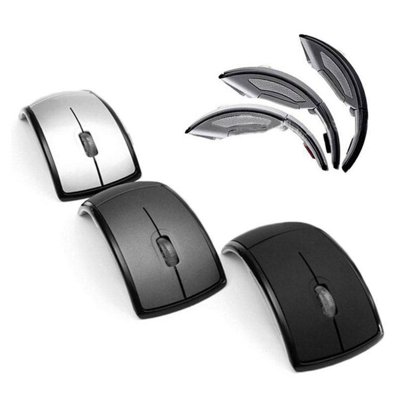 New 2.4GHz Wireless Mouse Craft Gift Curved Gaming Mouse New Optical MiceFree Code Design With 16 FM Channels  Features: