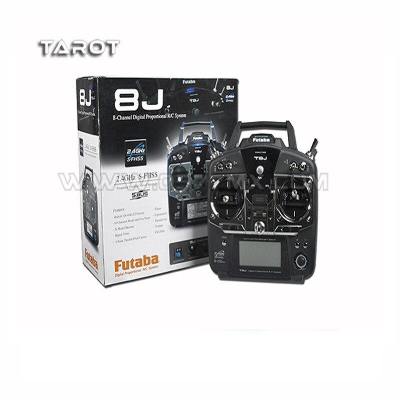 Futaba T8J 2.4Ghz S-FHSS 8ch Transmitter + R2008SB Receiver Combo Mode1 /2/3/4 frsky s fhss 8ch delta 8 receiver for futaba t6j t8j 4pl 14sg transmitter rc parts
