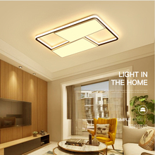 New Modern LED Ceiling lights For living room bedroom dining room Square ceiling lamp Surface mount remote control