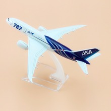 15cm Alloy Metal Air Japan Airlines ANA Boeing 787 B787 8 Airways Airplane Model Plane Model W Stand Aircraft Gift