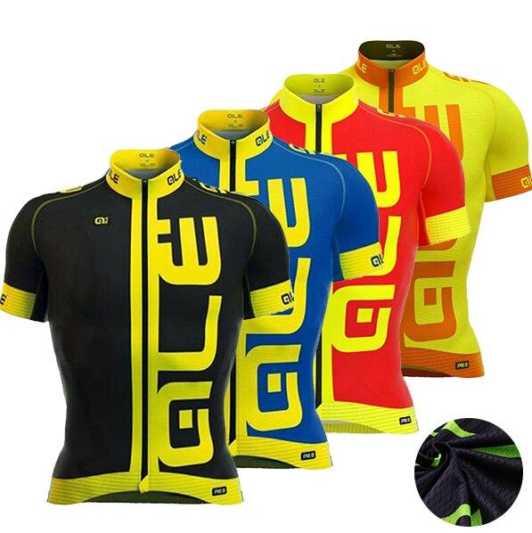 Prix pour 2017 ALE Cyclisme maillot ropa ciclismo hombre été rapide-sec vtt vélo maillot ciclsimo vêtements de cyclisme sport usage de bicyclette