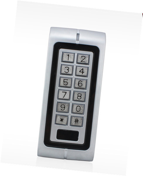 125KHz EM card Vandal-proof Metal Case Outdoor Smart Access Controller  Door Access Control System metal rfid em card reader ip68 waterproof metal standalone door lock access control system with keypad 2000 card users capacity