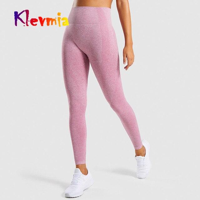ef37c89e8b2fc9 Women Vital Seamless Leggings High Waist Yoga Pants Push Up Leggins Sport  Women Fitness Running Pants Girl Gym Sport Leggings