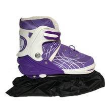 1pair Figure Skates Frame Protective Cover Waterproof Dust proof Nylon Roller Skates Slalom Speed Skating Shoes Bag Random Color