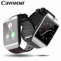Cawono Bluetooth inteligentny zegarek Smartwatch DZ09 telefon z systemem Android zadzwoń Relogio 2G GSM SIM karta kamery tf dla iPhone Android VS A1 GT08