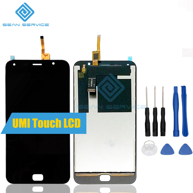 For UMI Touch LCD Display and Touch Screen Digitizer Assembly lcds 100% Original UMI Touch LCD + Tools Free shipping stock umi plus lcd display touch screen digitizer frame assembly 100