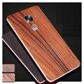Simples Para Letv Max 2 de volta vara/de madeira de madeira real filme após filme para Letv Le Max 2X820 5.7 polegada case