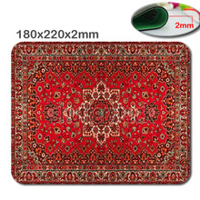Persian Carpets Style Design Costom Mouse Mat High Quality Skid Durable Fashion Computer and Laptop Mouse Pad