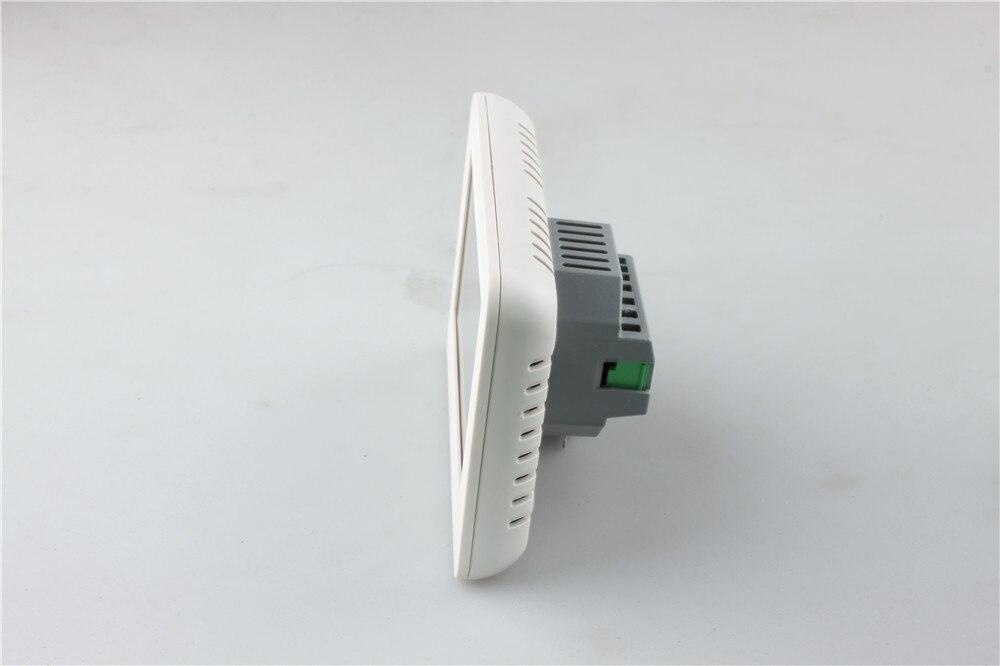 HT-CS01 grand écran couleur écran tactile Thermostat d'ambiance Thermostat de chauffage électrique par le sol interrupteur 16A - 3
