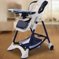 Роскошные стульчик для кормления стул детский обеденный стул складной многофункциональный Портативный детские стульчики для кормления де