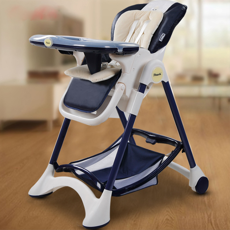 Luxury feeding high chair Dining Chair Children Dining Chair Foldable Multifunctional Portable Baby Highchairs baby seat