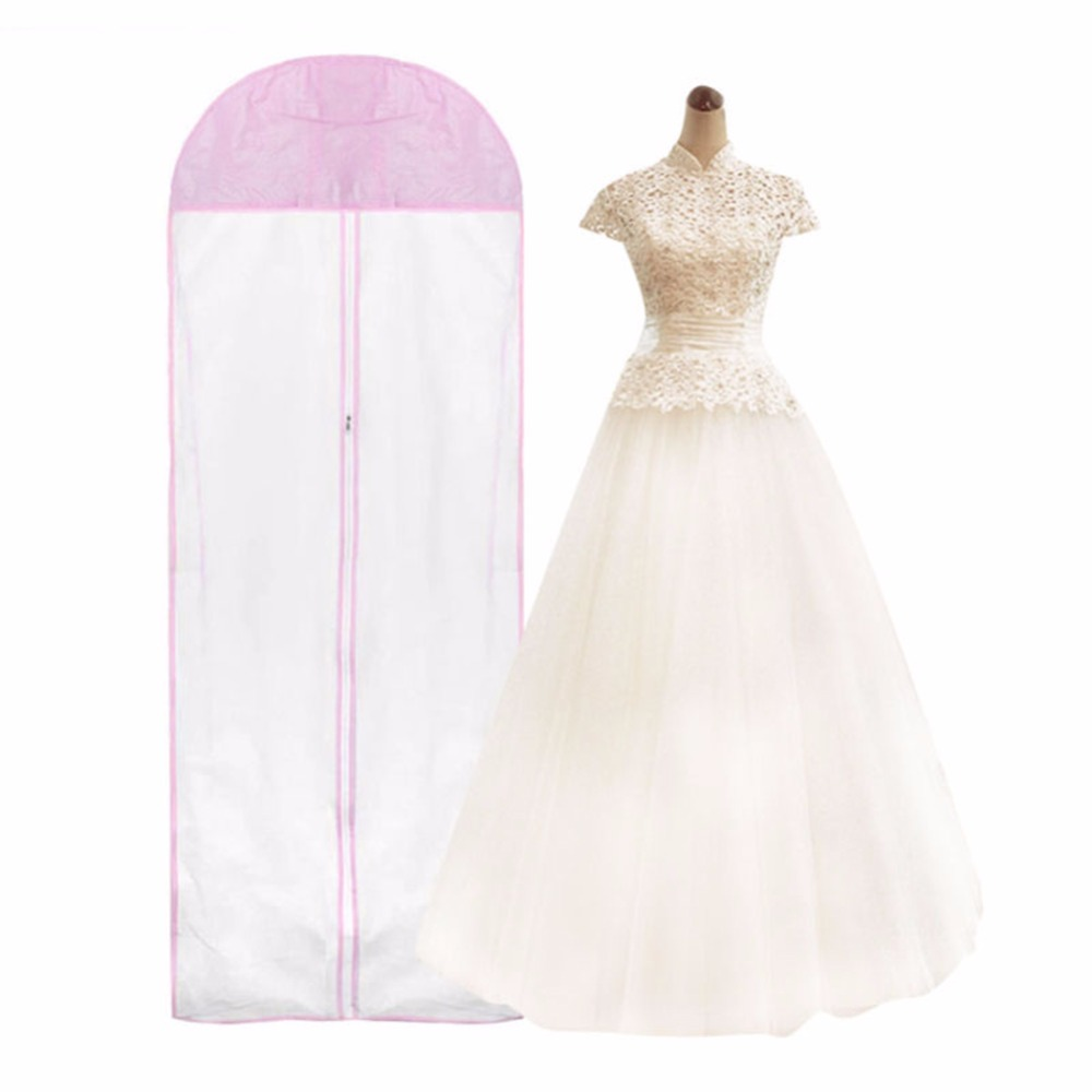 Wedding Gown Preservation Bag: Hot Extra Large Garment Bridal Gown Long Clothes Protector