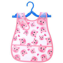 Cute Kid Infant Bibs Baby Soft Cartoon Bib Waterproof Saliva Dripping Bibs .