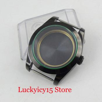 High Quality 39mm PVD Watch Case With Sapphire Crystal Fit for MIYOTA Automatic Movement