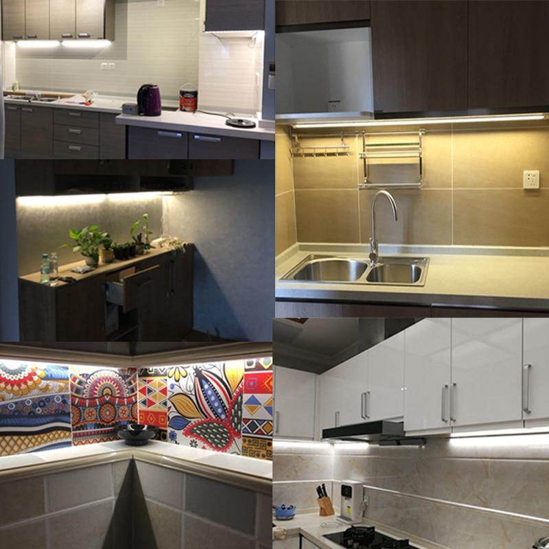 led tape kitchen peerless faucets under cabinet light lamp white warm strip 60leds m flexible closet 5v usb port tv backlight in lights
