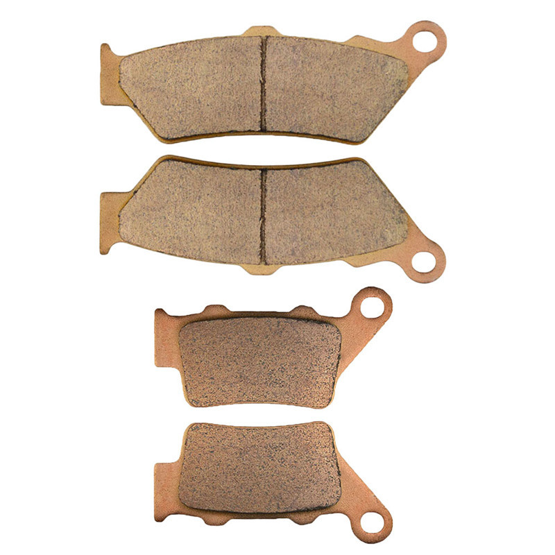 Motorcycle Parts Front & Rear Brake Pads Kit For BMW C1 125 / 200 1993-2003 F650 GS/ST/CS Dakar 1993-2008 ,Copper Based Sintered motorcycle parts copper based sintered motor front