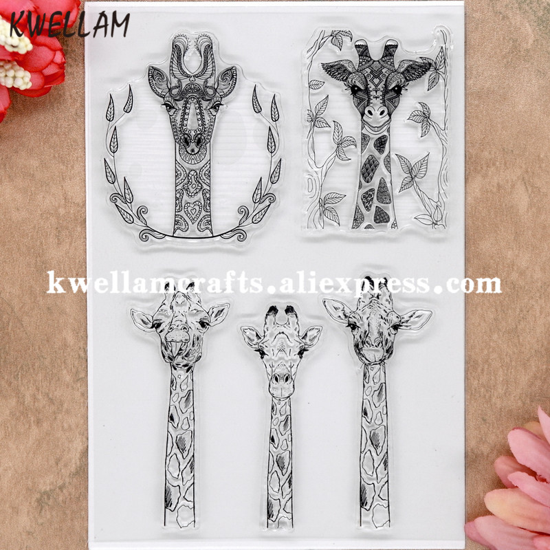 Lovely branch bird photo album cards transparent silicone rubber clear stamp XJ
