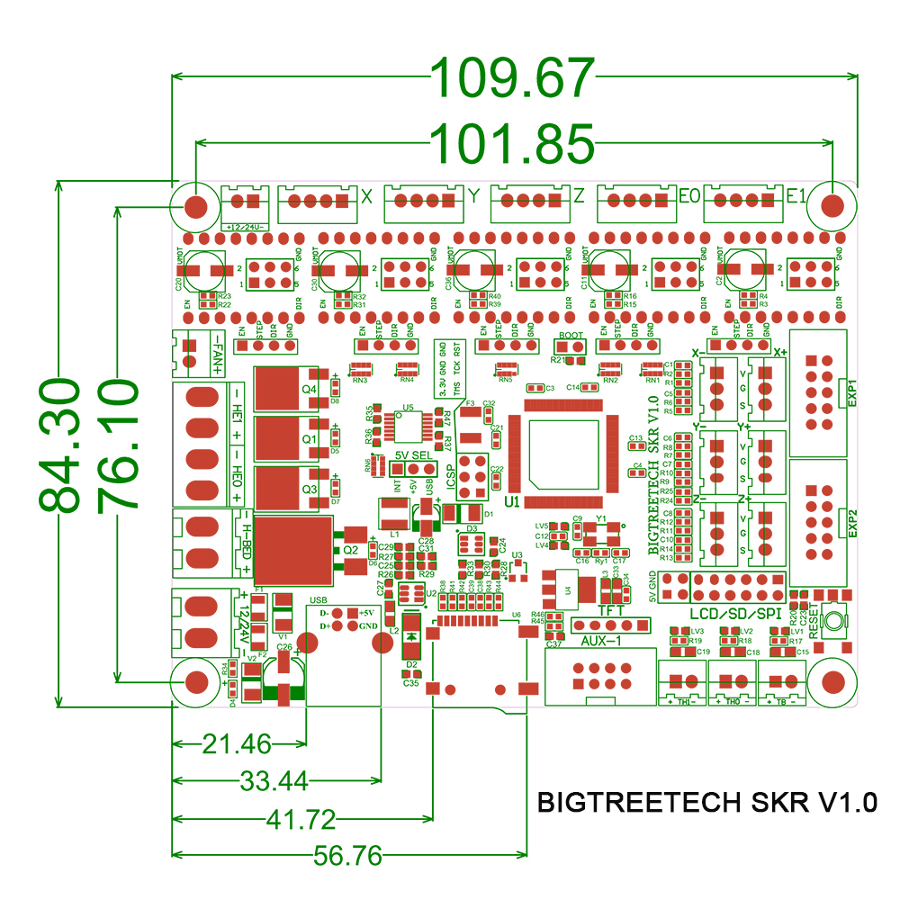 BIGTREETECH SKR 3D Printer Controller Board