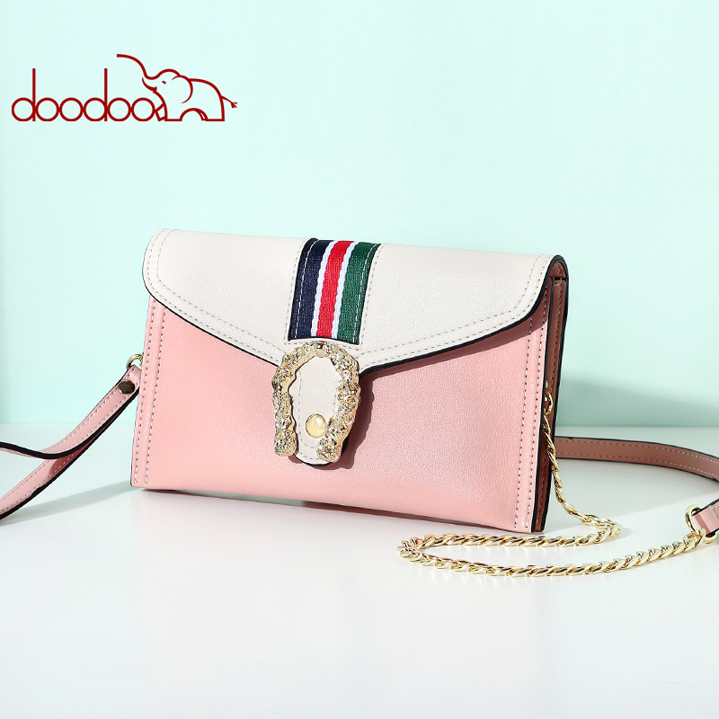 Doodoo Luxury Handbags Women Bags Designer Pu Purses And Handbags Hasp Shoulder Bags 2018 New Leather Bag Women Crossbody Bolsa retro women s crossbody bag with hasp and suede design