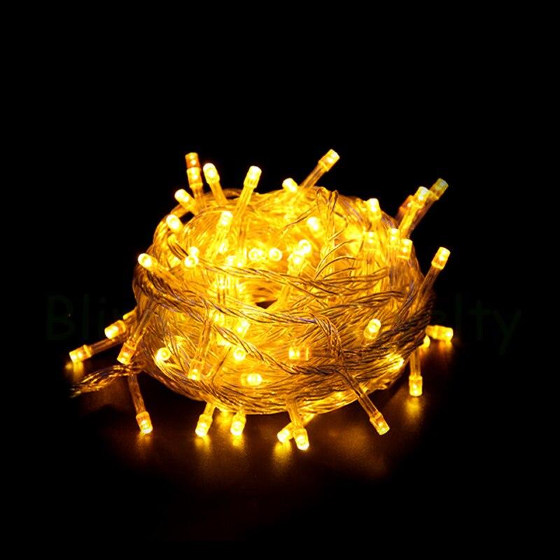 Božićna svjetla Unutarnja vanjska LED svjetla za žice 10M - Rasvjeta za odmor - Foto 3