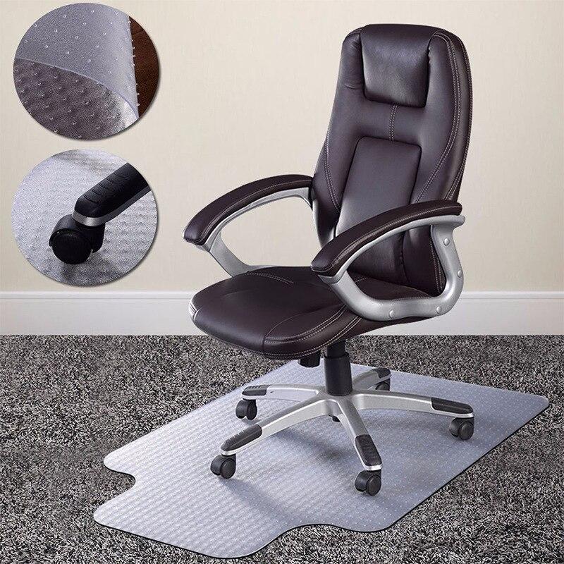 Lèvre chaise tapis de protection de plancher En Bois tapis de tapis De chaise de Bureau pvc tapis de sol antidérapant à ongles Plus Épais transparent tapis