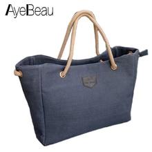 Beach Women Messenger Canvas Ladies Hand Tote Bag Fashion Handbag Famous Brand designer Bolsos Bolsas Sac A Main Femme De Marque