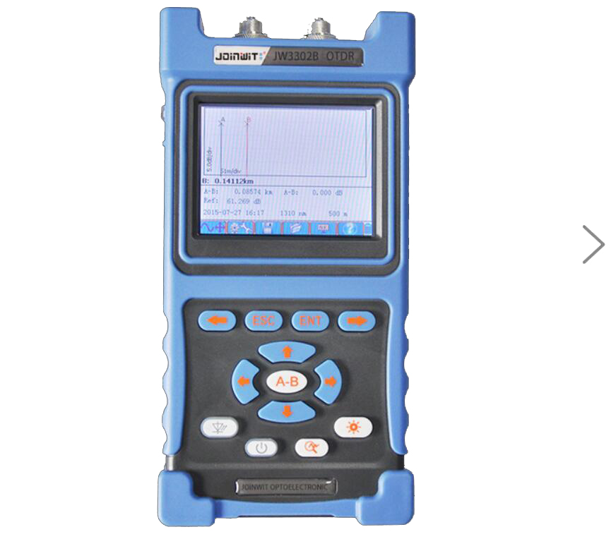 Handheld JW3302-SM-OTDR-1310-1550nm-30-28dB,Integrated VFL, Touch Screen Optical Time Domain Reflectometers BY DHL