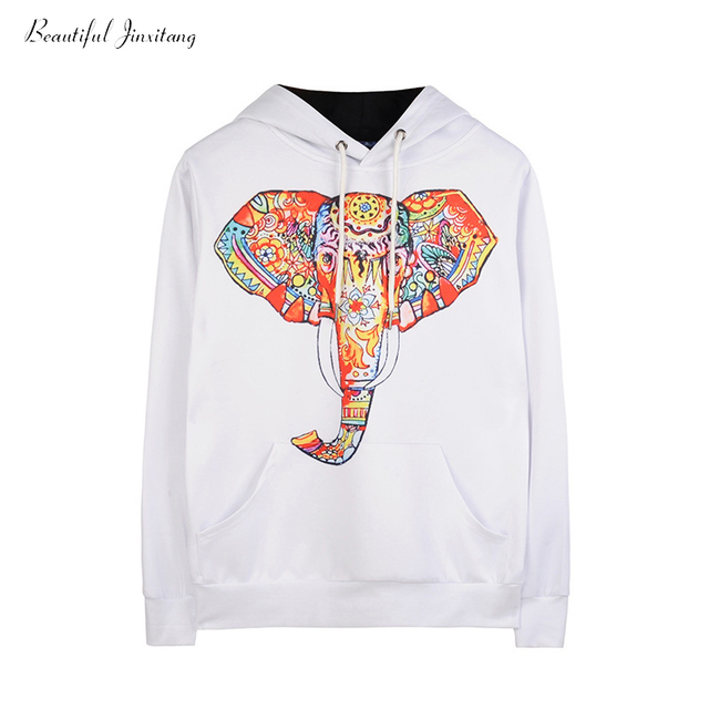 9e41584fdf0603 Women Sweatshirts 2018 Spring Autumn Elephant Nose 3D Pullover Hoodies  Fashion Casual Loose Hooded Pullover Sweatshirts Nl013