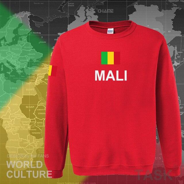 Republic of Mali hoodie men sweatshirt sweat new hip hop streetwear tracksuit nation footballer sporting country MLI Malian 3