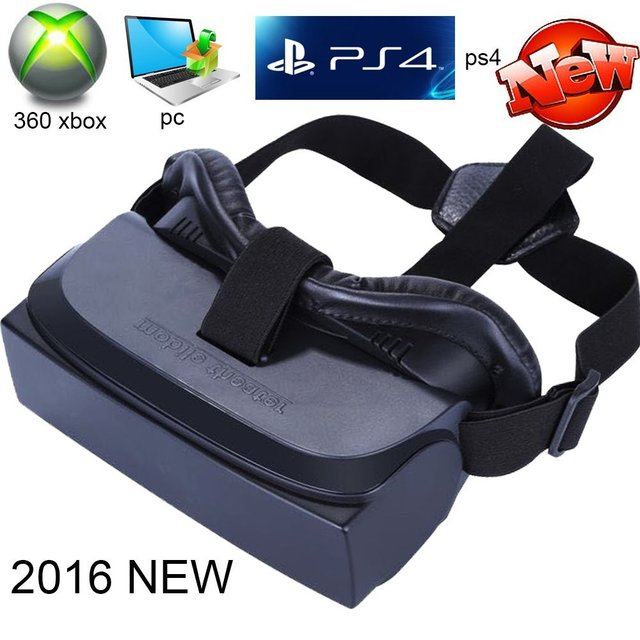 06d12975443 VR BOX 3D Glasses Game Movie All in One Portable VR Virtual Reality Headset  3D Movie Game Glasses 1080P for PC PS4 360 XBOX