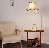 Деревянный пол лампа полки Модные Простые современные ткани Таблица спальня гостиная кофе прикроватной тумбочке пол свет ta928548