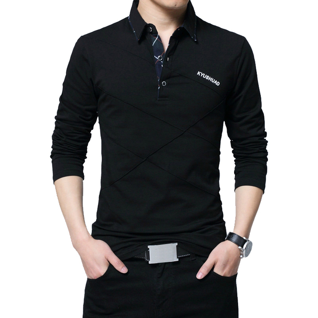 Brand Stripe Designer Slim Fit Casual Cotton  Plus Size 4