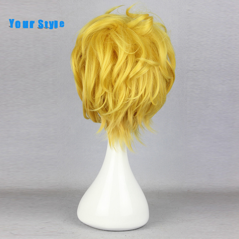 Twój Styl Krótki Cosplay Peruka Fryzury Pixie Cut Curlr Dla Partii