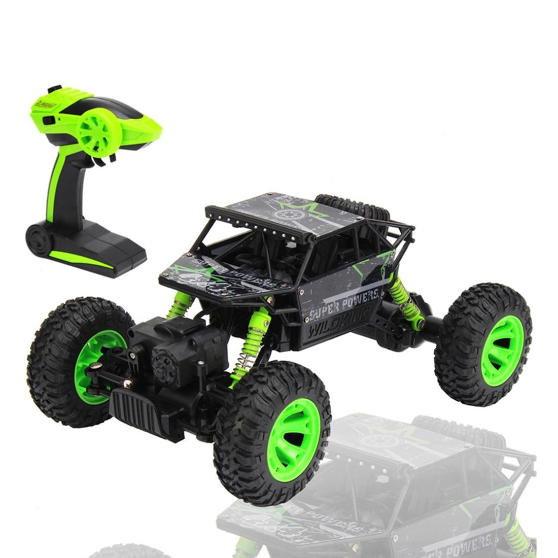 2.4 ghz 1:18 Échelle 4x4 Rock Robots Voiture RC Rock Crawler 4WD Hors Course Sur Route Camion De Voiture Jouet, UE Plug