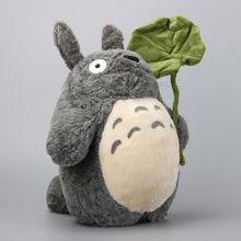 Anime ghibli miyazaki hayao meu vizinho totoro recheado brinquedos de pelúcia kawaii totoro bonecas macias 36 cm