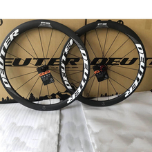 New 700C ultra-light carbon wheelset road bicycle 50mm Tubular Clincher road bike wheels 4 bearings 11 speeds 6 colors option