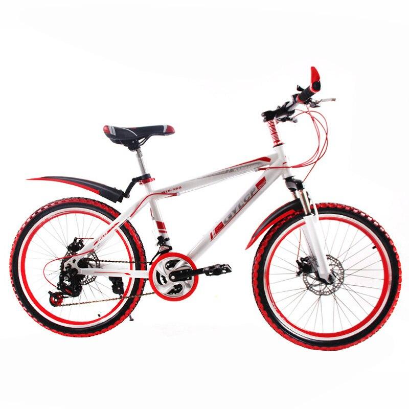 14 Velocidad 20 pulgadas ruedas de Bicicleta de Montaña de Doble disco de freno