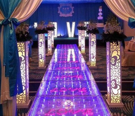 Free shipping Luxury Wedding Decoration wedding pillars column Road Lead Stand without light 8pcs/lot