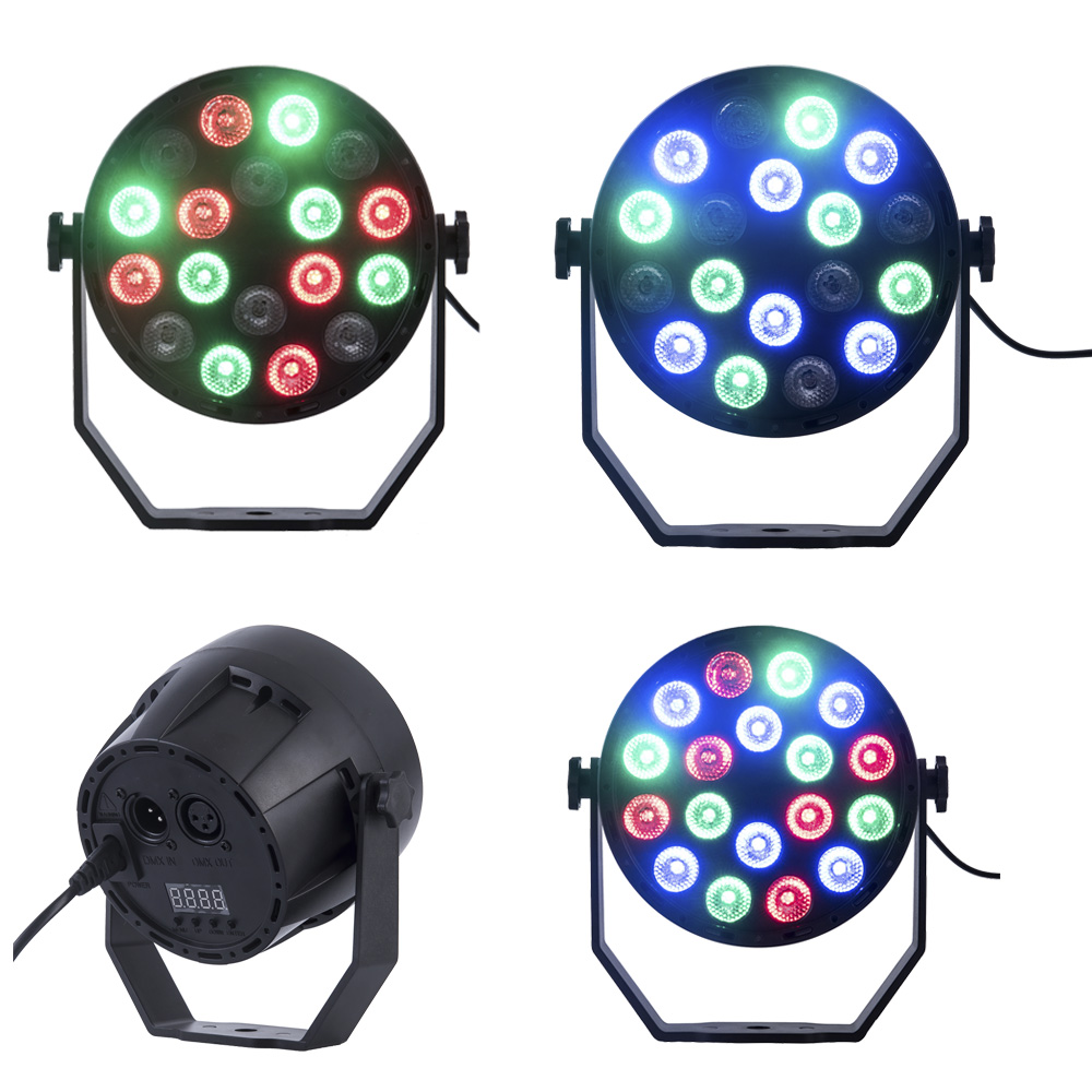 RGB Led Christmas Lights Par Spot Light Waterproof Decorations Outdoor LED Light For Landscape Garden Holiday Party Lighting