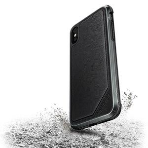 Image 2 - X doria defesa lux caso de telefone para iphone xs x militar grau gota testado anodizado de alumínio capa protetora para iphone x