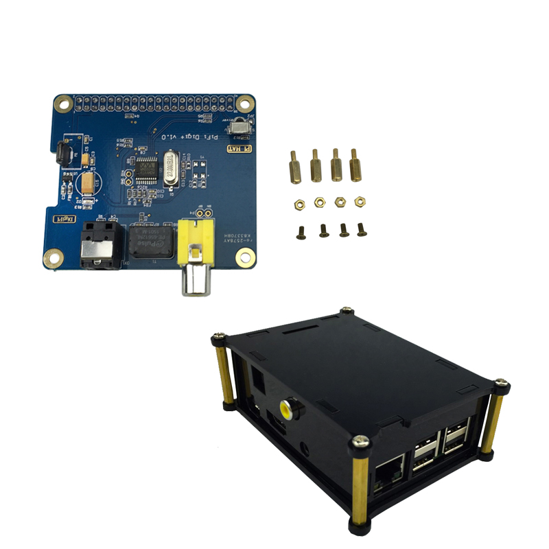 hifi dac expansion board v1 1 for raspberry pi for raspberry