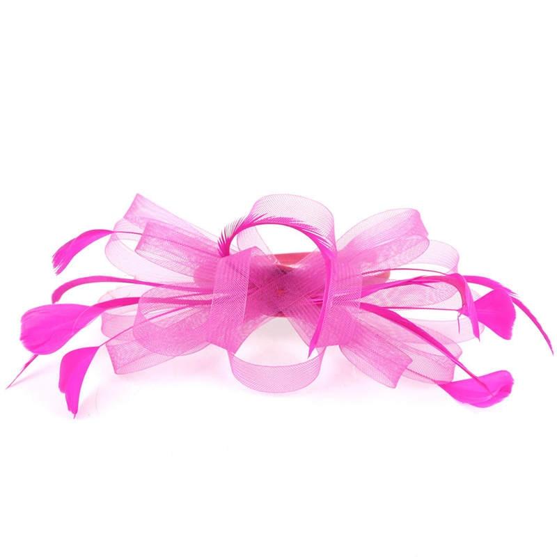 Fascinators Hat for Women Tea Party Headband Fancy Dress Accessories Wedding Hair Accessories For Women Hairband J12# (19)