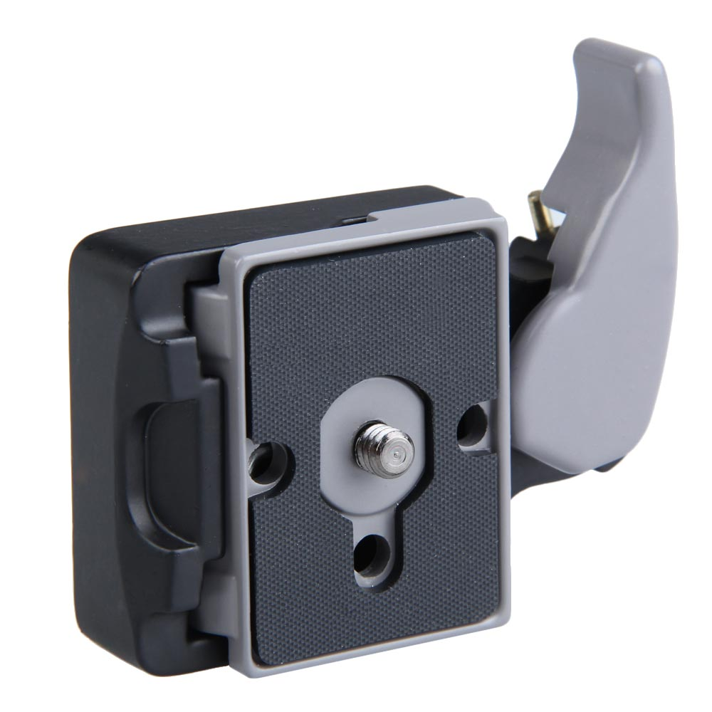 New Black Camera 323 Quick Release Adapter with Manfrotto 200PL-14 Compat Plate @JH