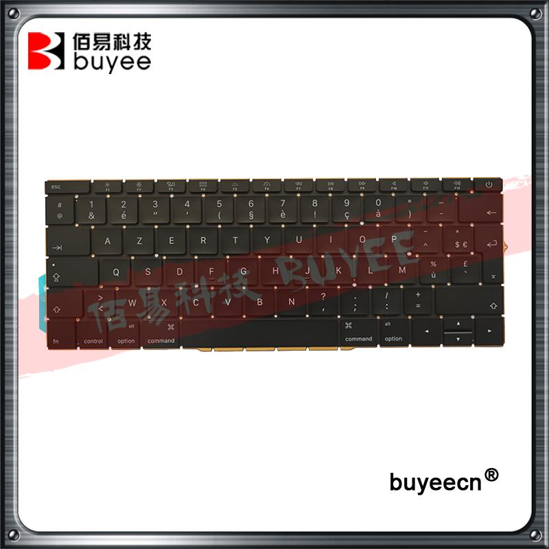 Original New A1708 French Keyboards Replacement For Macbook Retina Pro 13 Inch Laptop A1708 Azerty FR