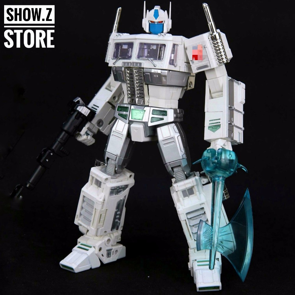 [Show.Z Store] 4th Party MP10U Ultra Magnus White w/ Trailer CK Reissue Transformation Action Figure брюки met met me486ewqam36