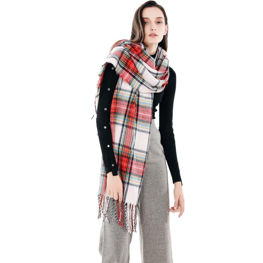 OuMo Brand bandana crinkle hijab women kerchief hair scarf women Soft Warm shawls snood scarf Thicken Long Women shawl 200 68 in Women 39 s Scarves from Apparel Accessories