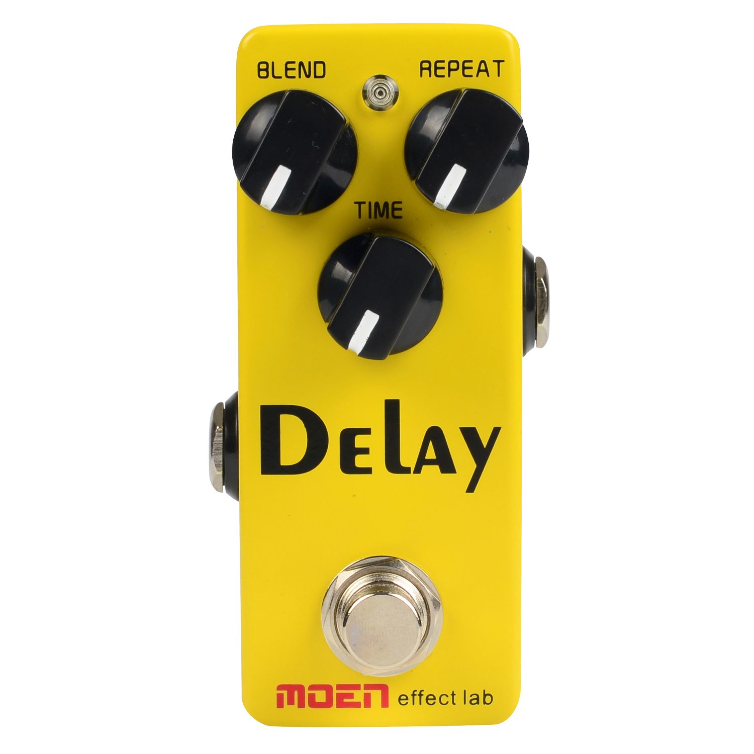 Moen Delay Guitar Effect Pedal for Electric Guitar  Ture Bypass Blend Time Repeat Control Mini Effects Stompbox moen compressor guitar effect pedal ture