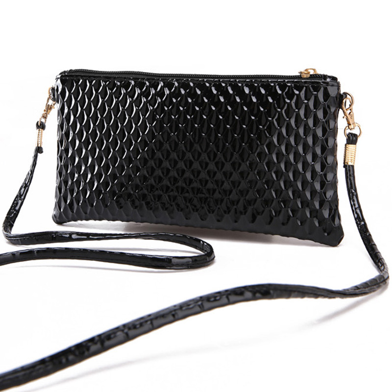 Fashion Serpentine Pattern Women's Small Shoulder Bag High Quality Soft PU Leather Messenger Bag Casual Phone Bag Summer Handbag