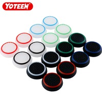 Yoteen 4Pcs Analog Thumbstick Caps Thumb Stick Joystick For PS4 XBOX 360 Dualshock 4 for Nintend Switch Pro Controller