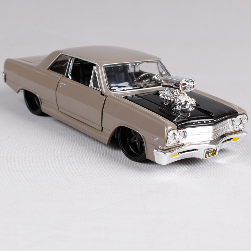 US $32 88 |Maisto 1:24 1965 Chvrolet MALIBU SS Diecast Model Car Toy New In  Box Free Shipping 31138-in Diecasts & Toy Vehicles from Toys & Hobbies on